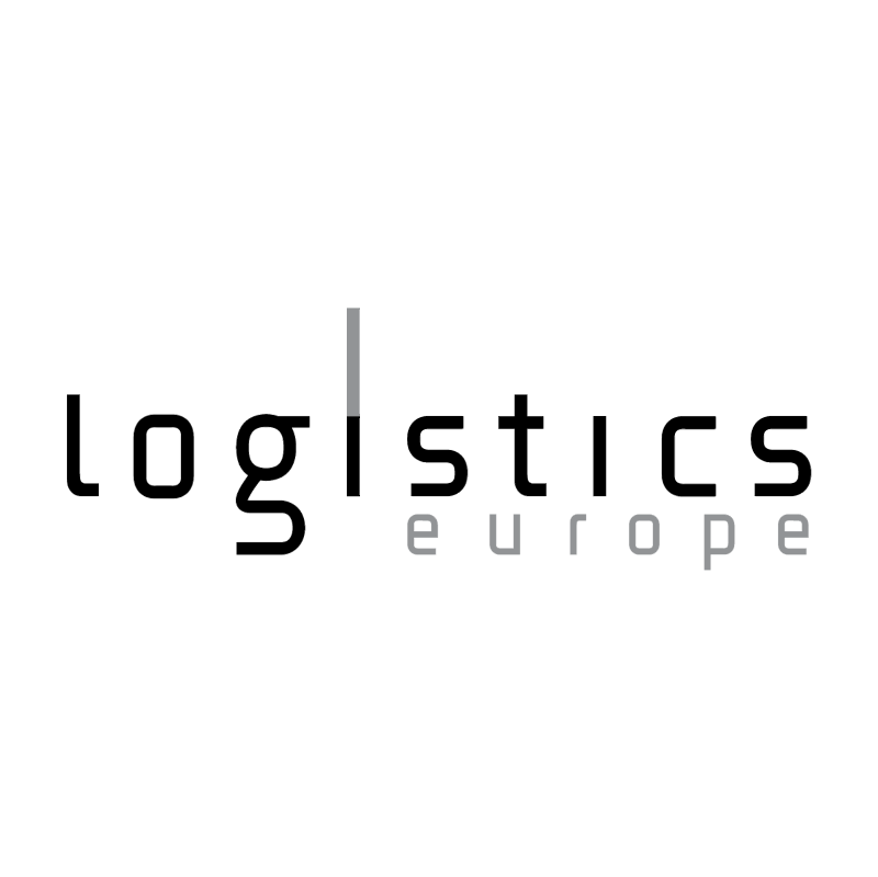 Logistics Europe vector logo