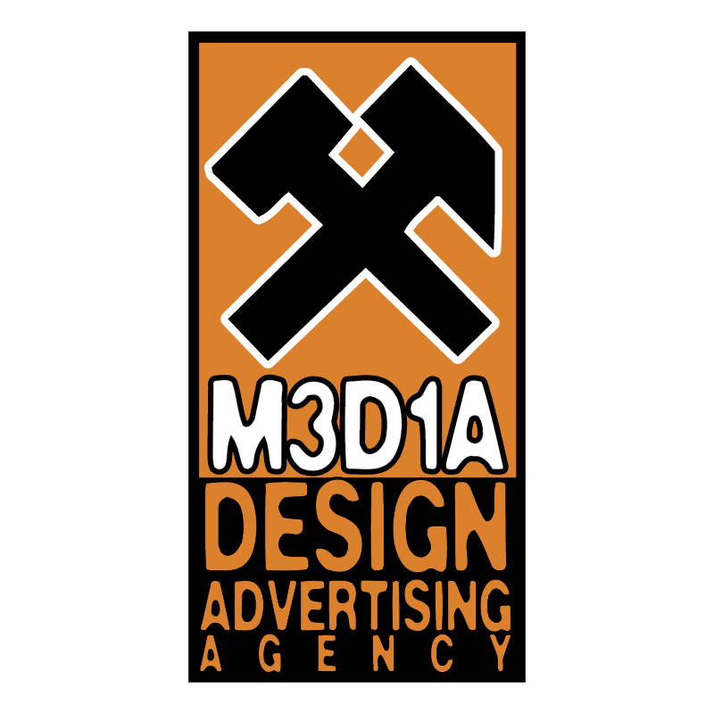 Media Design vector logo