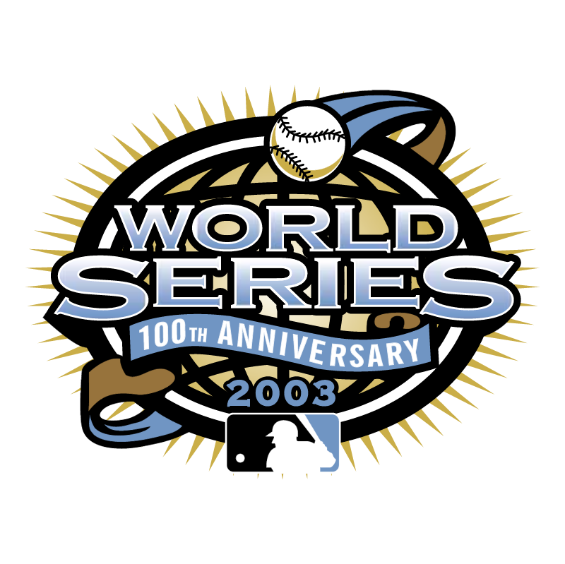 MLB World Series 2003 vector logo