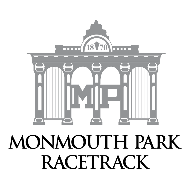 Monmouth Park Racetrack vector
