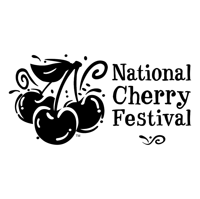 National Cherry Festival vector logo