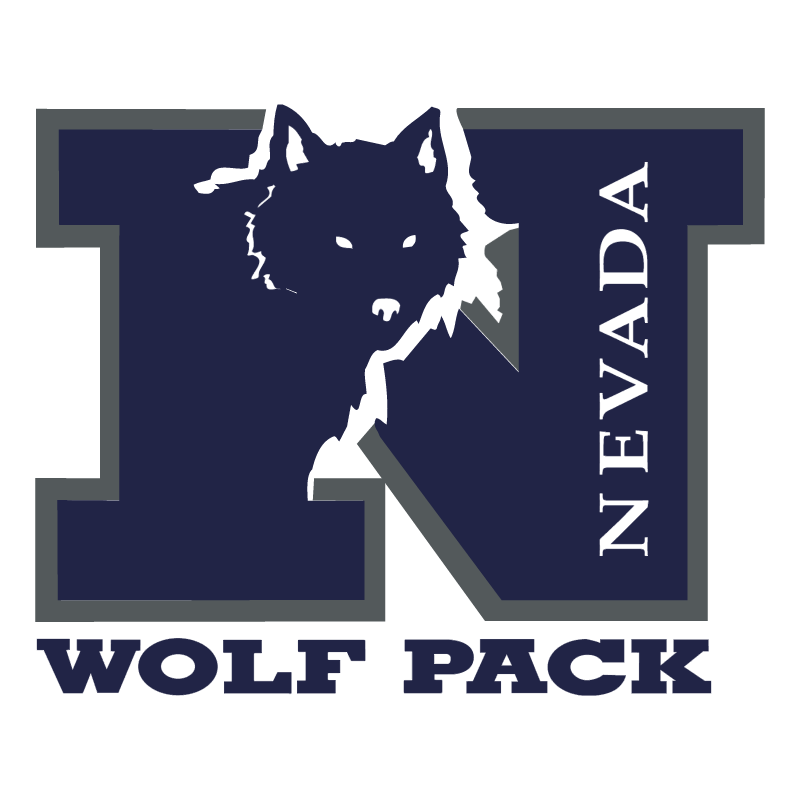 Nevada Wolf Pack vector logo
