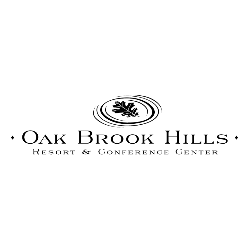 Oak Brook Hills vector