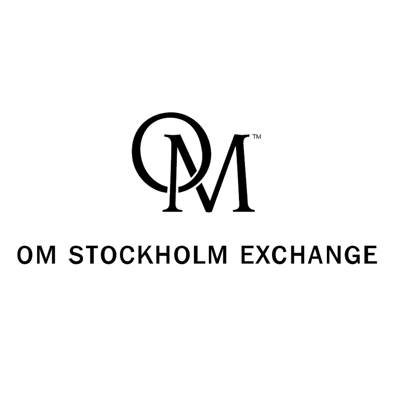 OM Stockholm Exchange vector