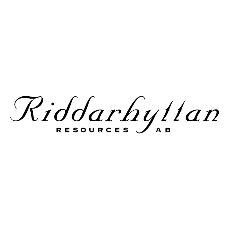 Riddarhyttan Resources vector