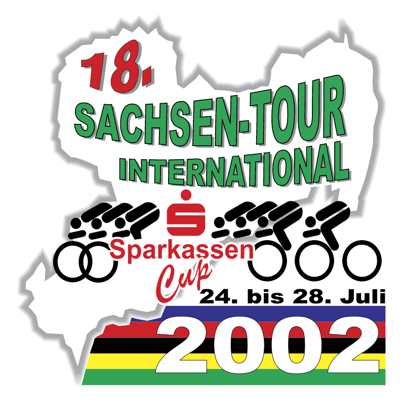 Sachsen Tour International vector logo