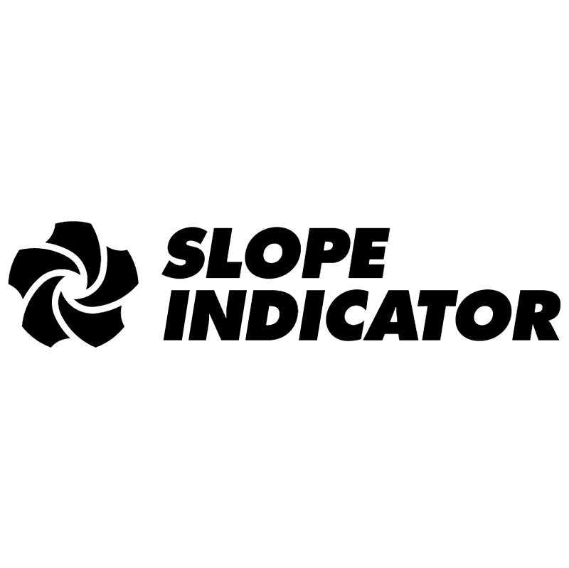 Slope Indicator vector