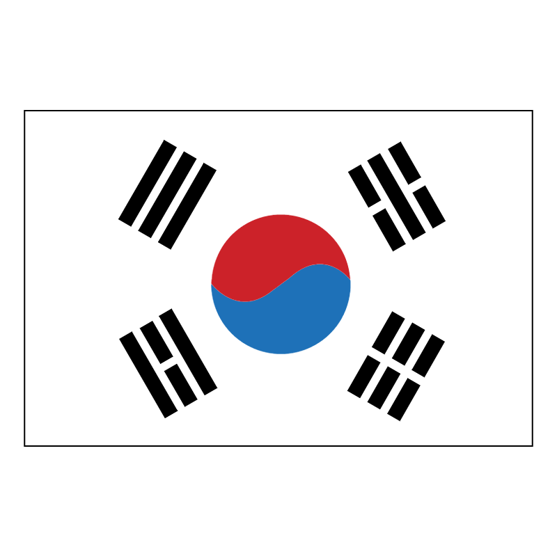 South Korea vector