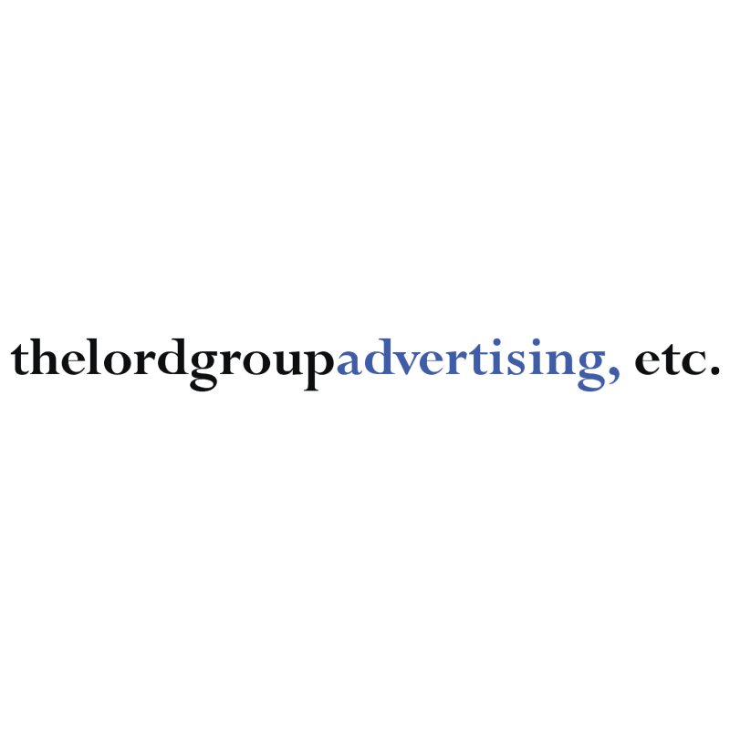 The Lord Group Advertising vector logo