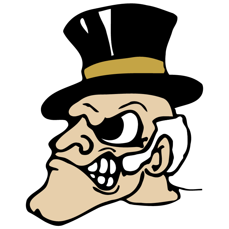 Wake Forest Demon Deacons vector