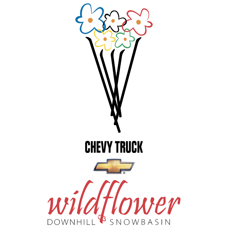 Wildflower vector logo