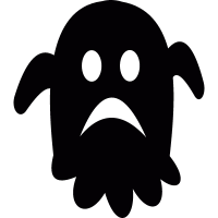 Sad ghost vector