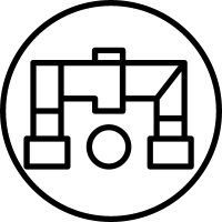 Piping outline symbol