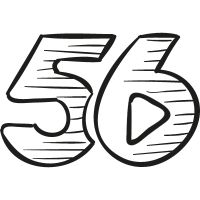 56 drawn logo