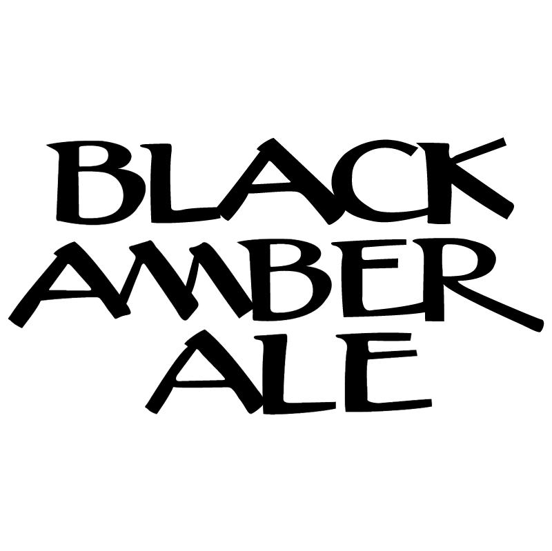 Black Amber Ale vector