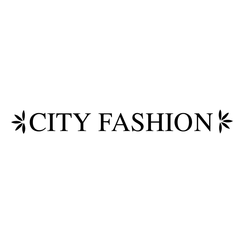 City Fashion vector logo