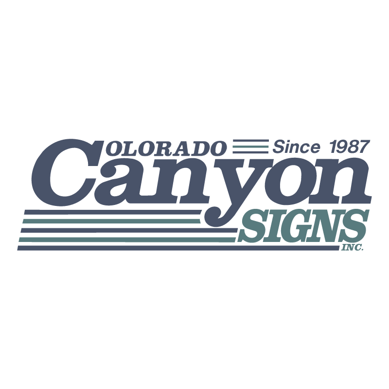 Colorado Canyon Signs, Inc vector