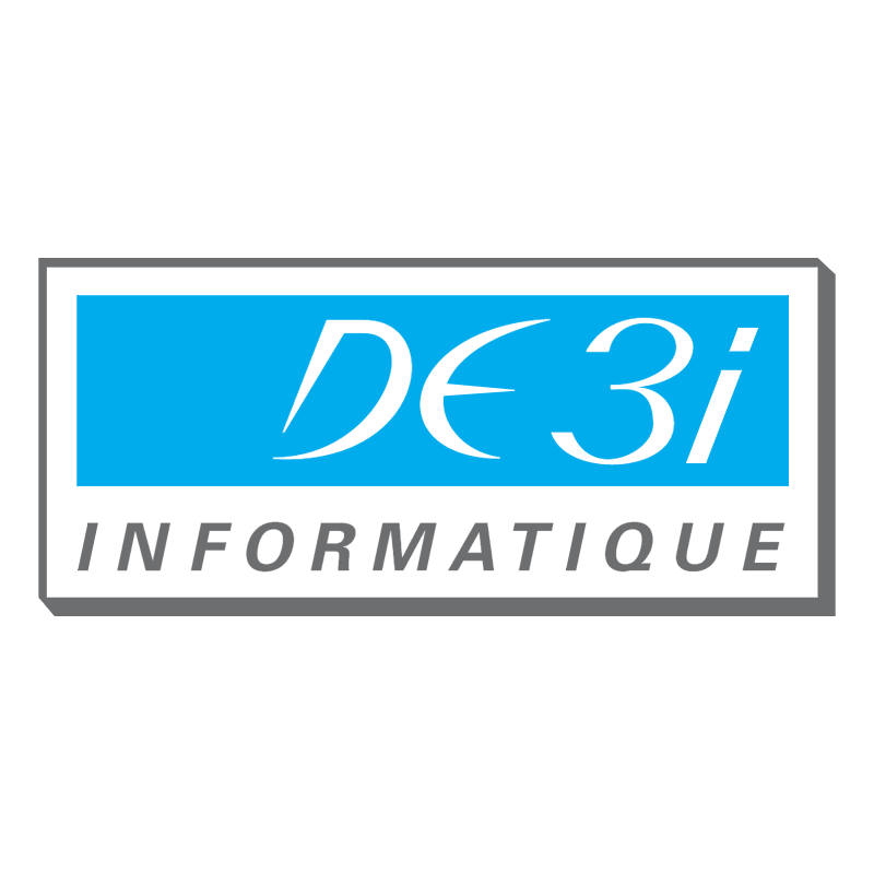 DE 3i informatique vector logo