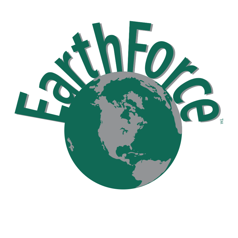 Earth Force vector logo