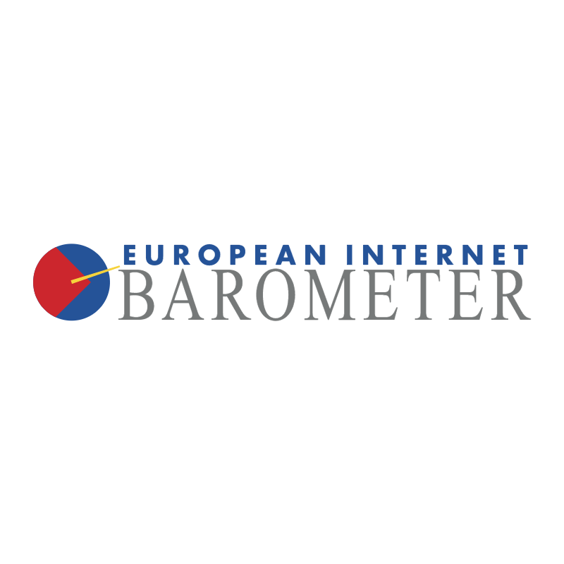 European Internet Barometer vector