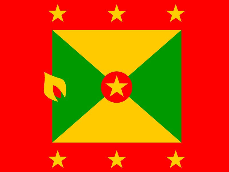 Flag of Grenada vector