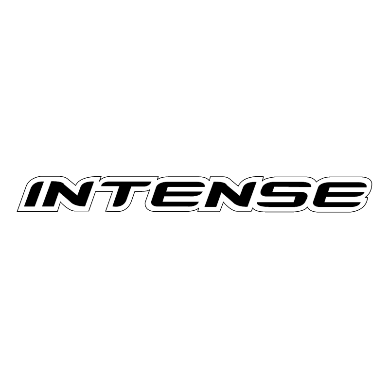 Intense vector logo