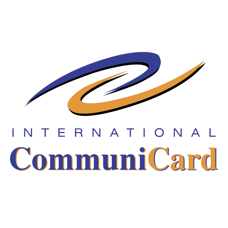 International CommuniCard vector