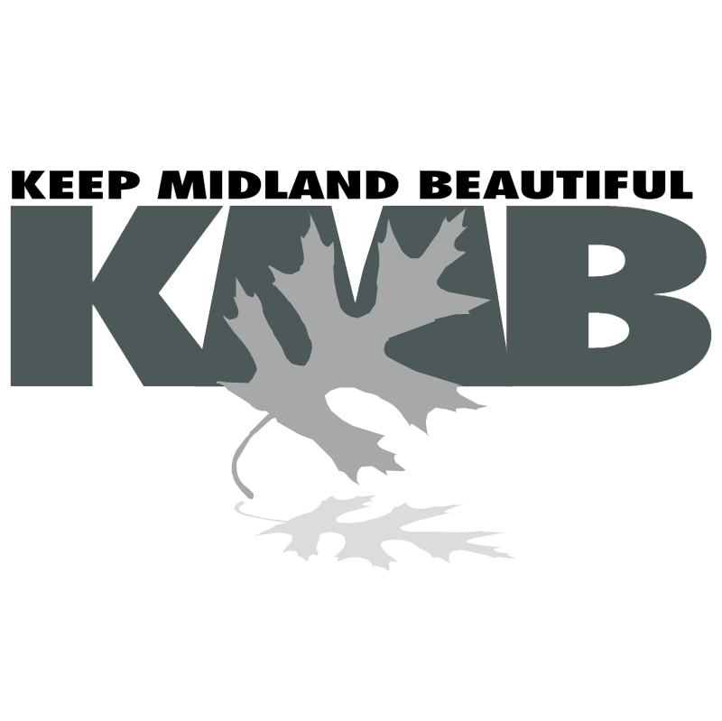 Keep Midland Beautiful vector