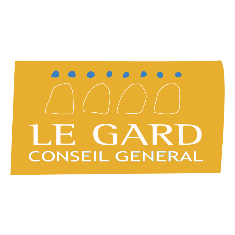 Le Gard Conseil General vector