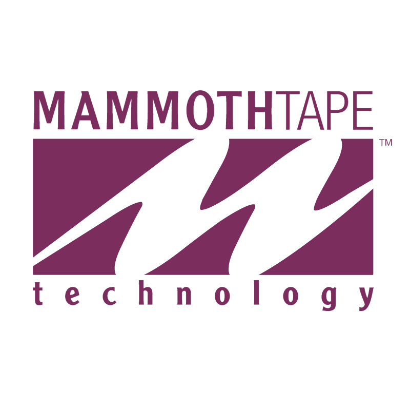 MammothTape Technology vector