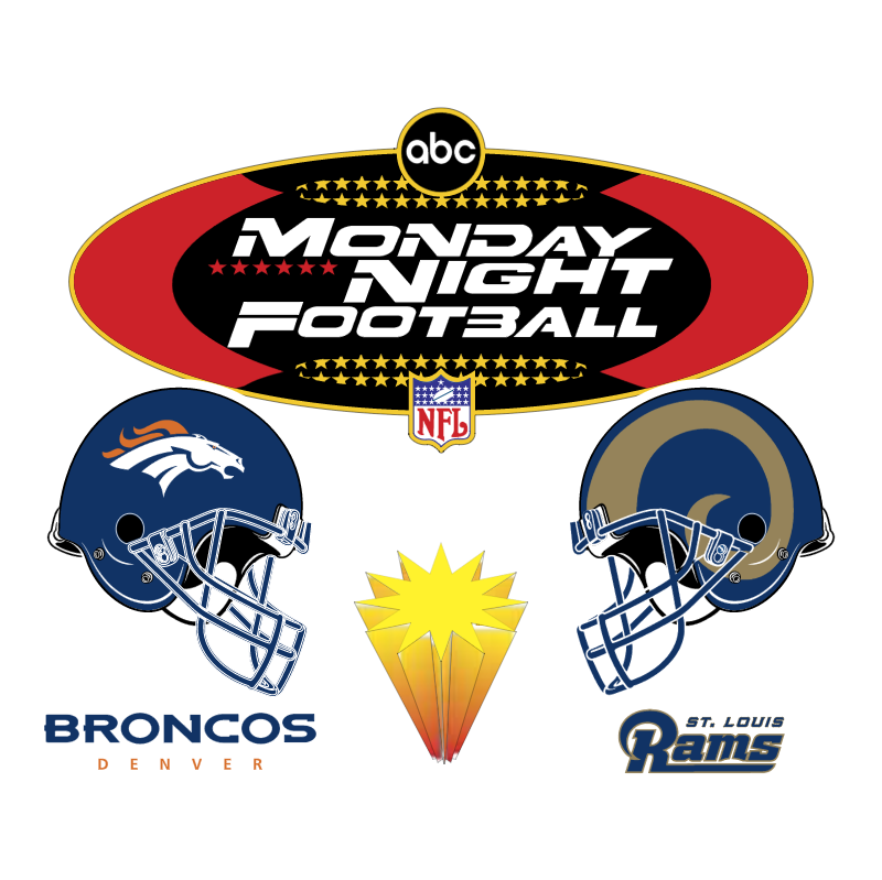 Monday Night Football USA vector