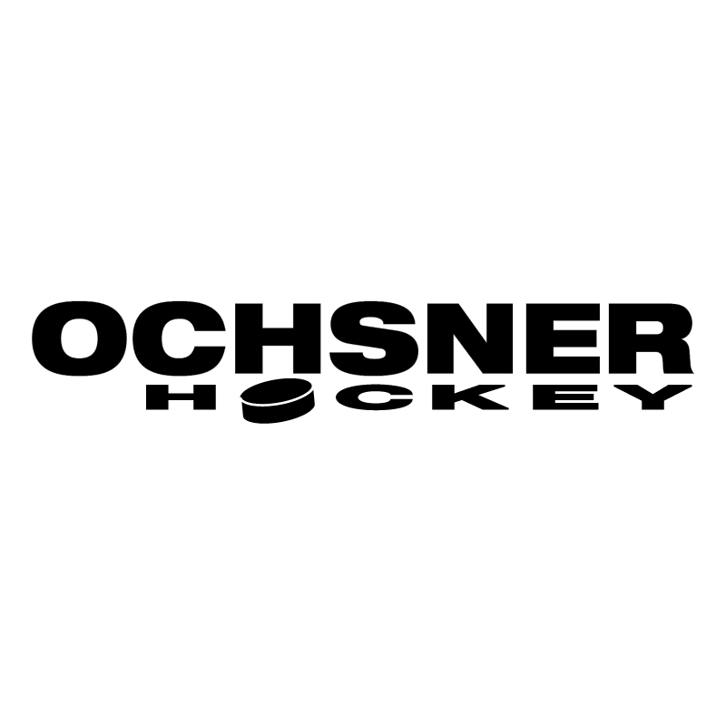 Ochsner Hockey vector