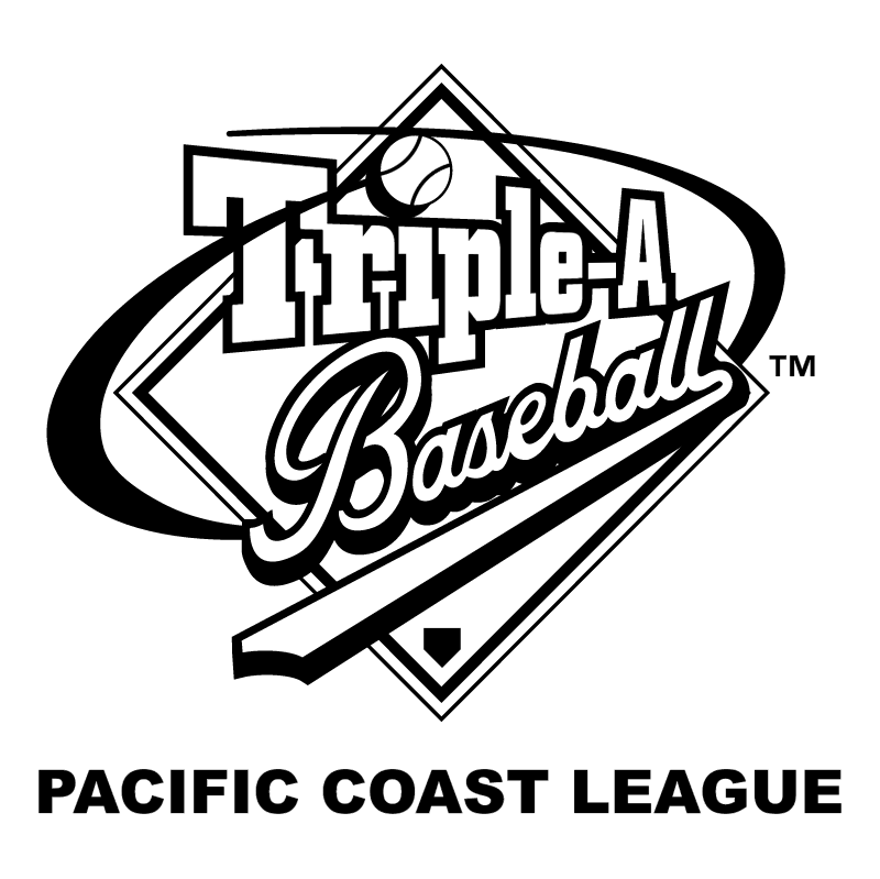 Pacific Coast League vector logo