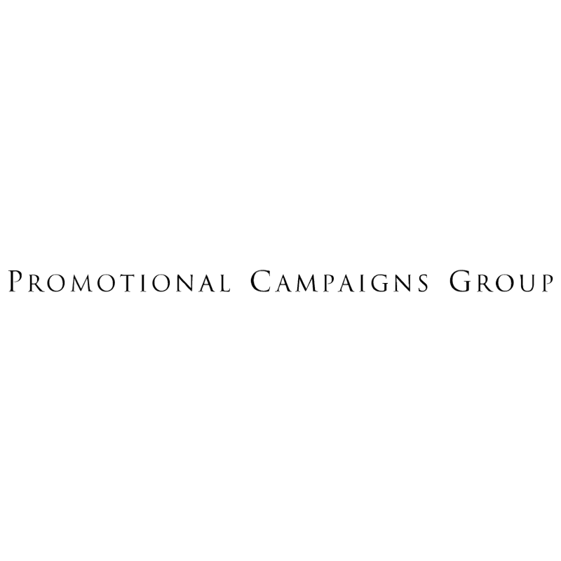 Promotional Campaigns group vector logo