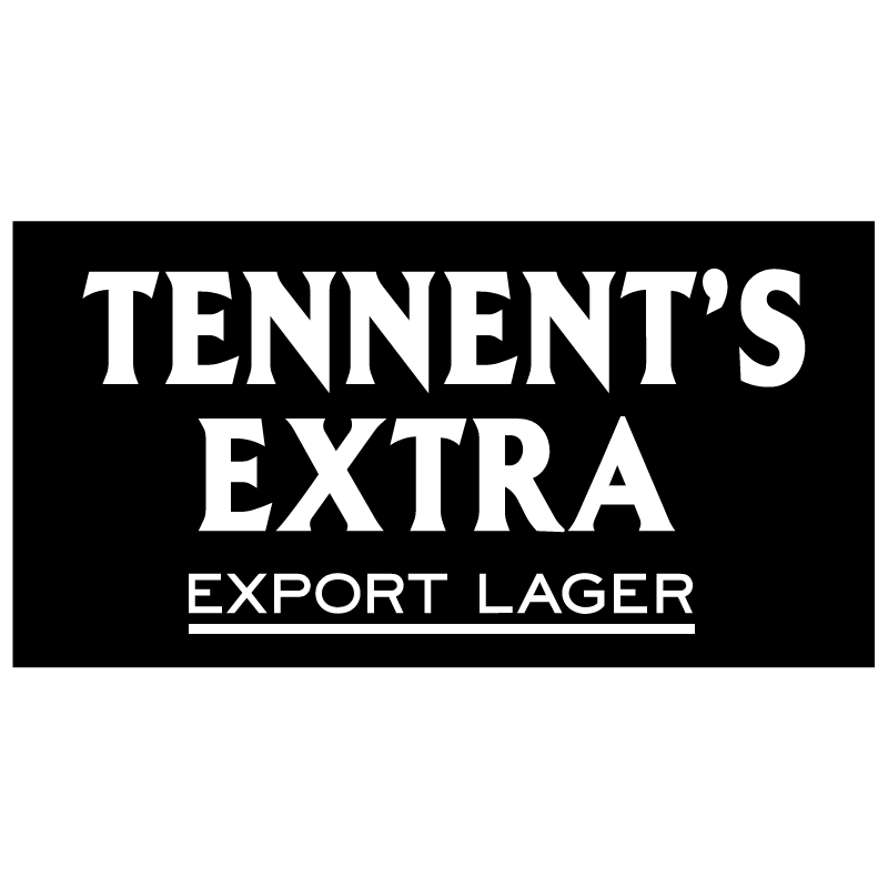 Tennents Extra vector