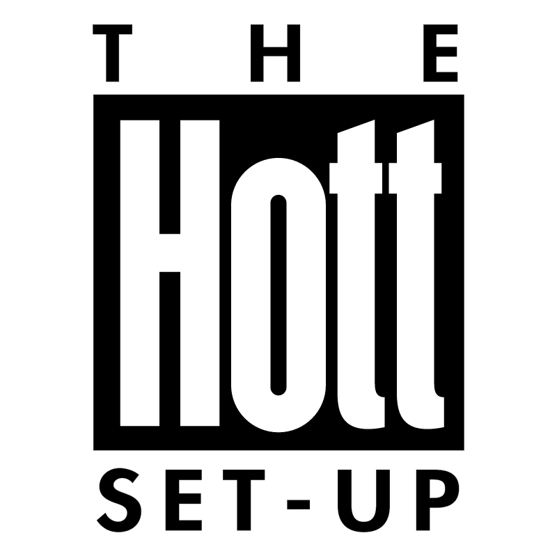 The Hott Set Up vector logo