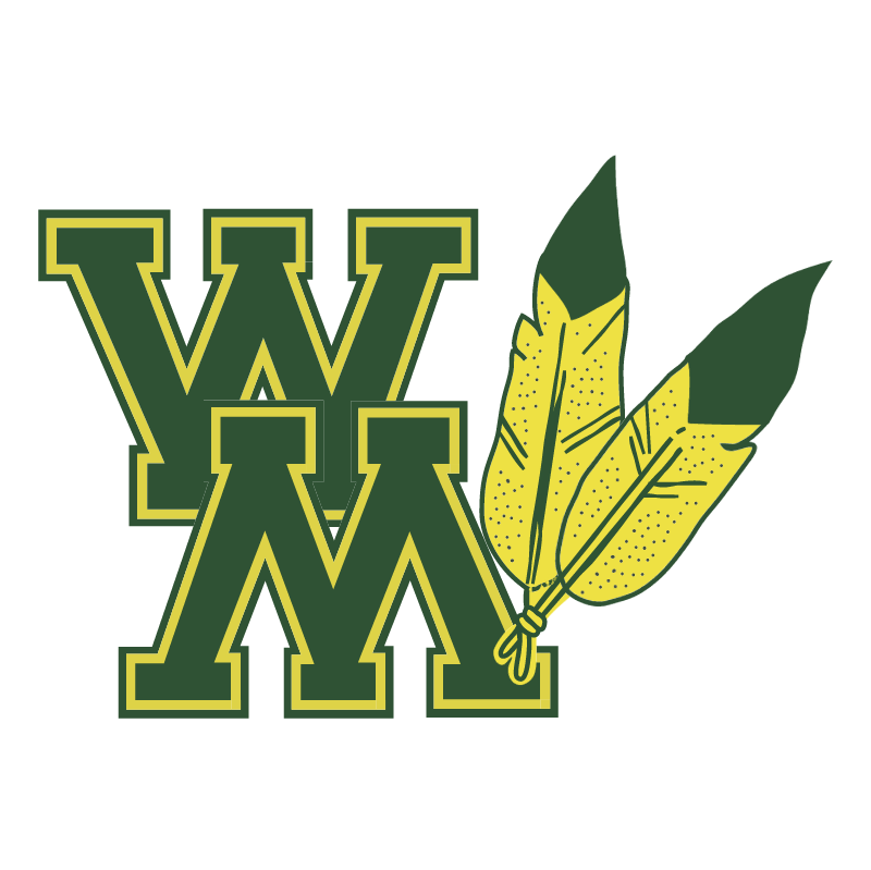 William And Mary Tribe vector