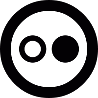 Flickr round logo