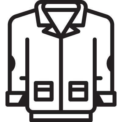 Men Jacket vector logo