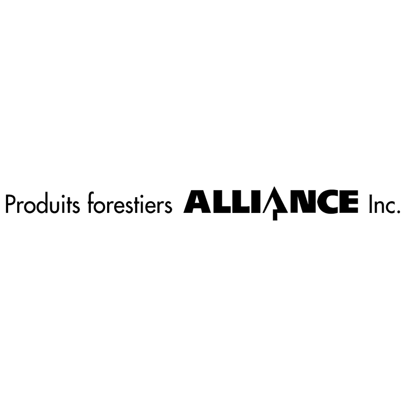 Alliance Produits vector logo