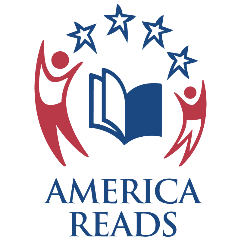 America Reads vector logo