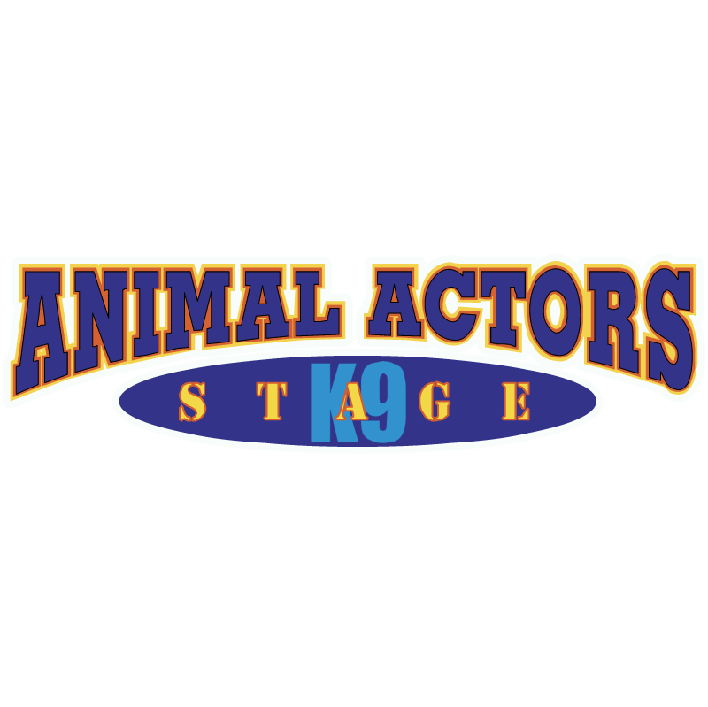 Animal Actors Stage vector