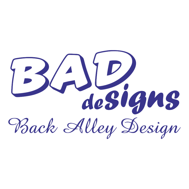 BAD deSigns vector