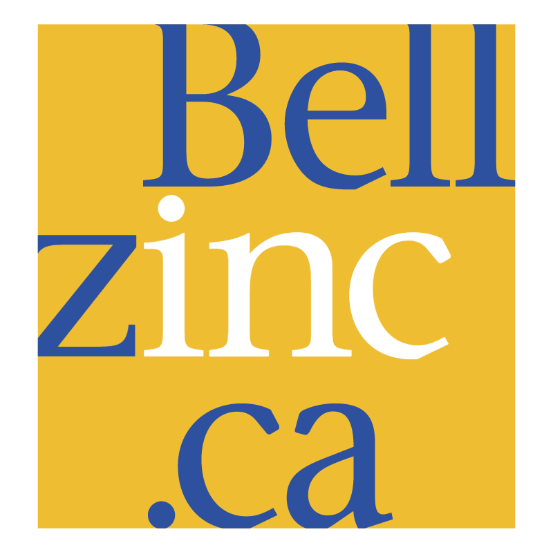 BellZinc ca 65981 vector