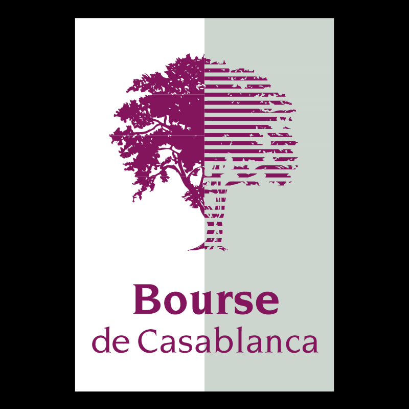 Bourse de Casablanca vector