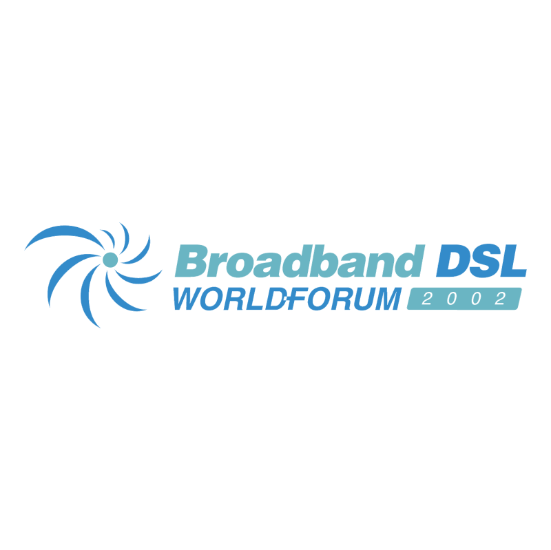 Broadband DSL World Forum vector logo