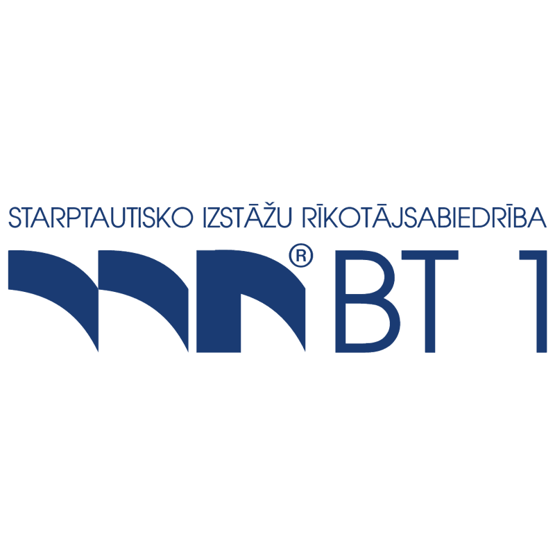 BT 1 vector logo