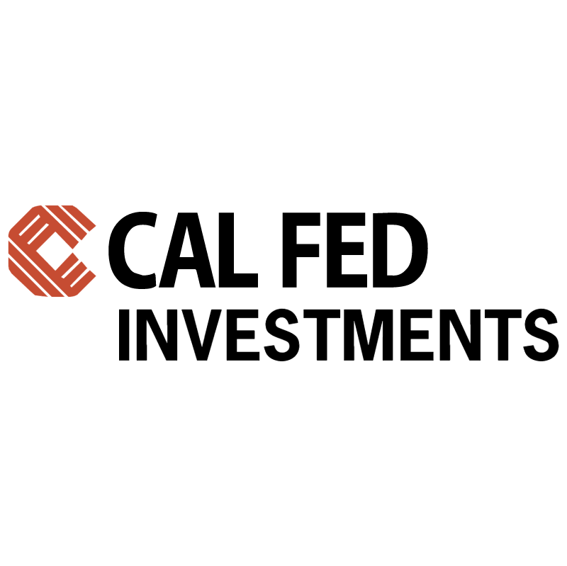 CAL FED Investments vector logo