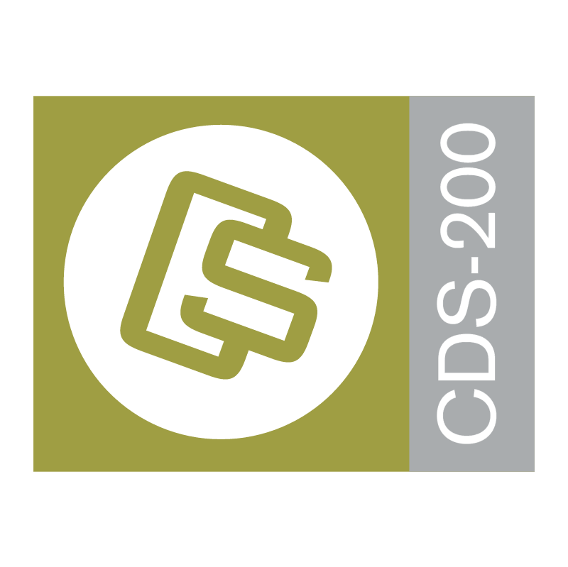 CDS 200 vector logo