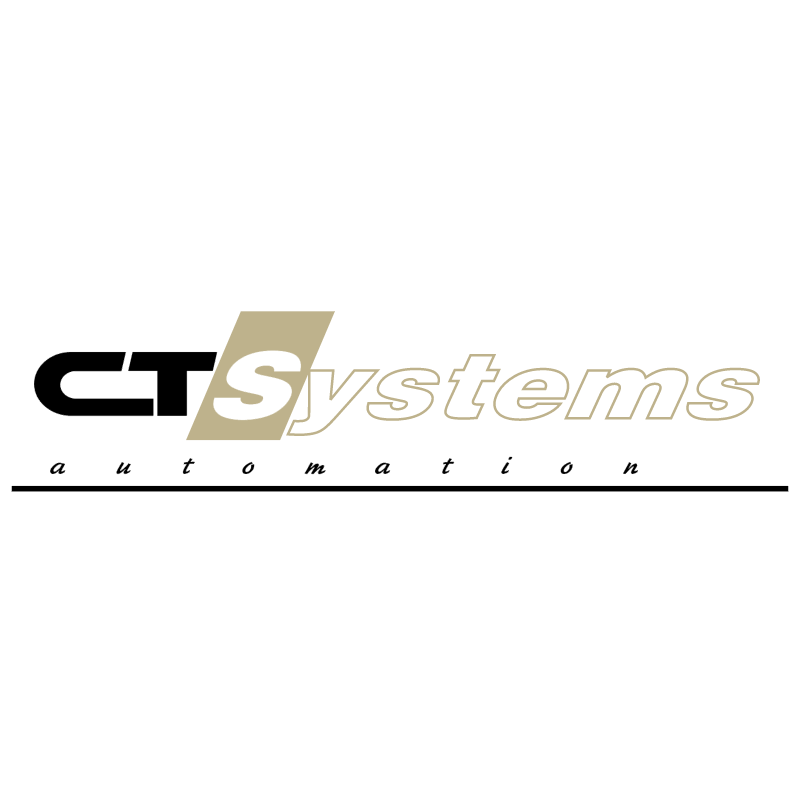 CT Systems Automation vector logo